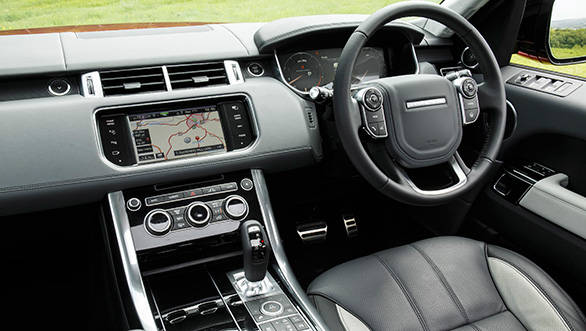 Sport interior is similar to Range Rover and can be specced in various trim configurations