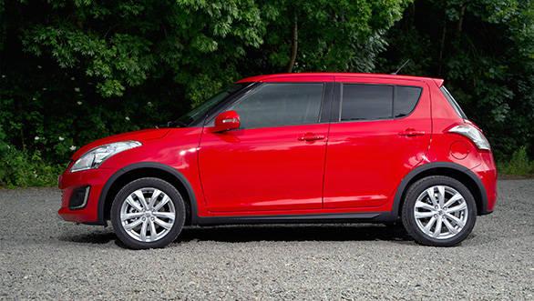 The 2013 Suzuki Swift 4x4