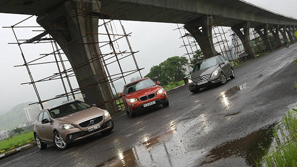 The X1 is the best car in terms of fun, the B-Class is the most cost-effective but the