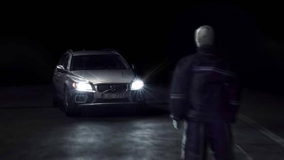 Pedestrian detection in the dark is a notable feature in the new XC90