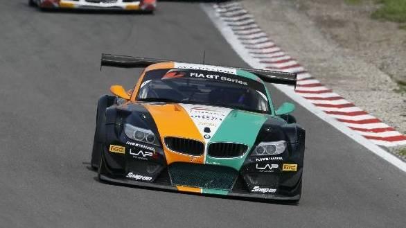The BMW Sports Trophy Team India Z4