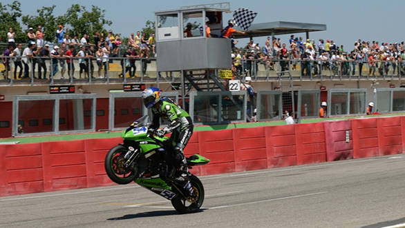 Mahi Racing is back to their winning ways with Sofuoglu's first place at Imola in the WSS race