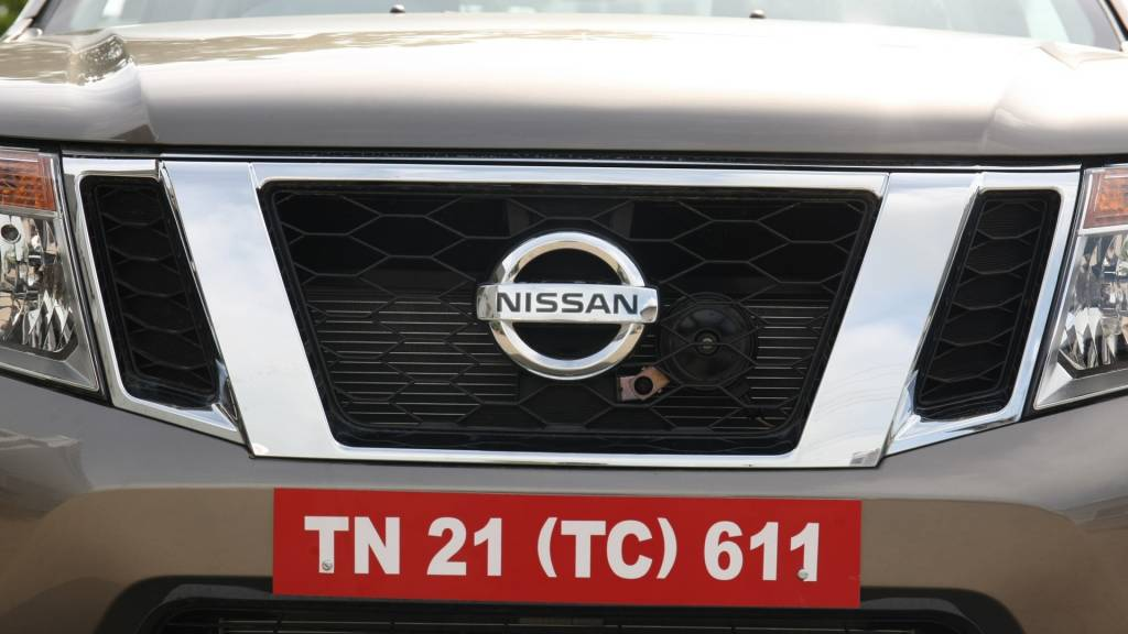 The front is what sees the most change with a completely new face that's very in line with Nissan's family look