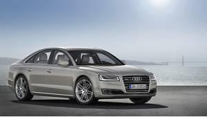 Frankfurt 2013: 2014 Audi A8