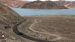From Pangong Tso to Marsimik La, driving to the world's highest motorable pass