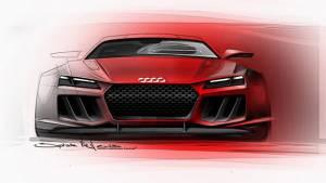 Audi reveals new Quattro concept design for Frankfurt 2013