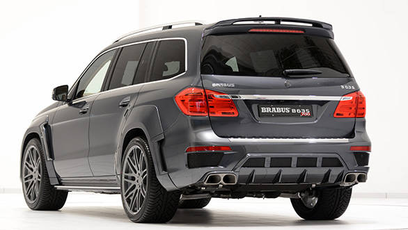 The GL63 with the B63S-700 performance kit