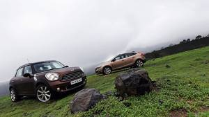 2013 Mini Countryman diesel vs Volvo V40 Cross Country