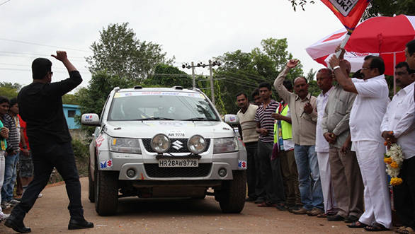 Dakshin Dare 2013 has two categories for 4-wheelers, 'Extreme' and 'Endurance'.