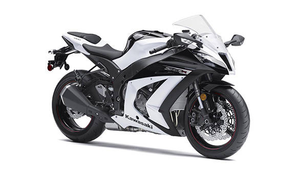 The ZX-10R uses a 197PS 998cc inline four
