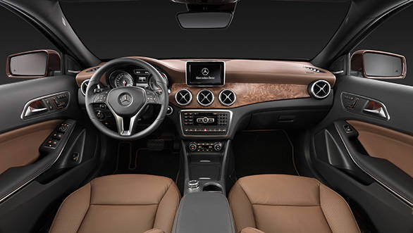 Interiors are carried over from the A-Class