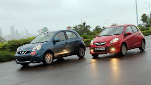 2013 Nissan Micra CVT vs Honda Brio AT