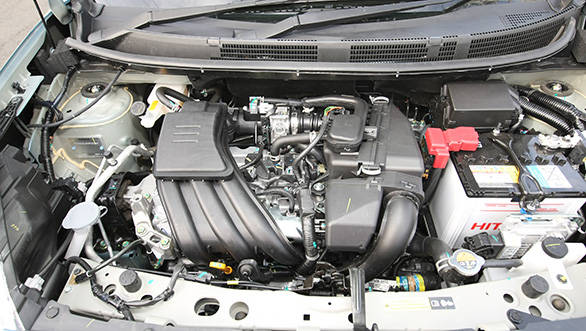 The new Micra has a three pot motor under the hood