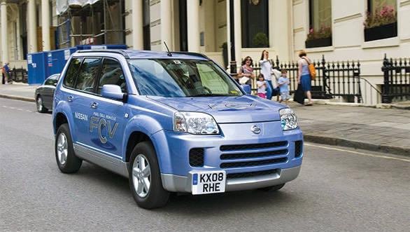 The Nissan FCV is a multi-million dollar prototype