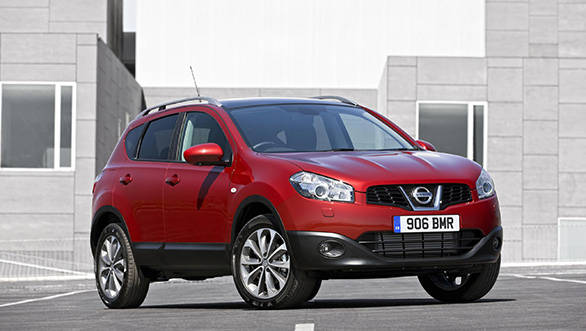 Nissan Qashqai set for India launch in 2014