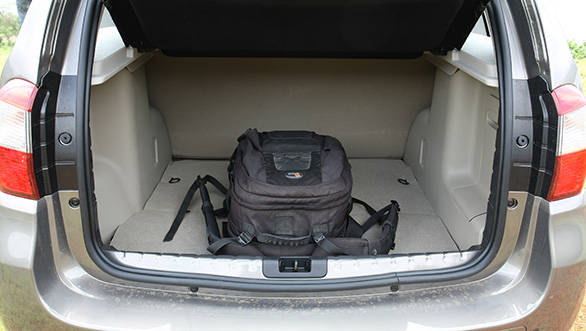 The boot space is good and can swallow most holiday luggage