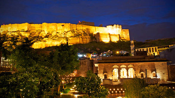 RAAS with Jodhpur's evening sky in the backdrop