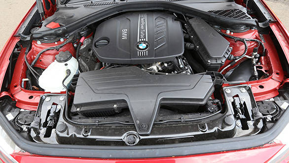 The 118d uses a 2-litre, four-cylinder, longitudinally mounted diesel motor