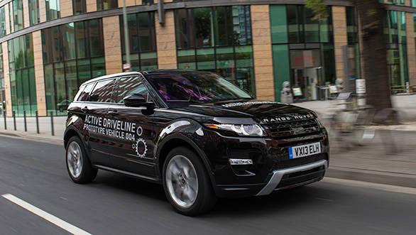 Range Rover Evoque 9-speed