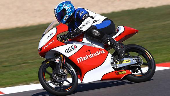 A racebike needs to be precise, but slick is a bonus