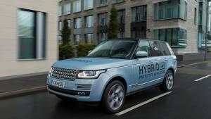 Hybrids are the future, says JLR