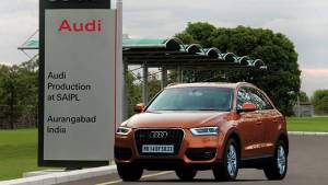 Audi Q3 assembly starts in India