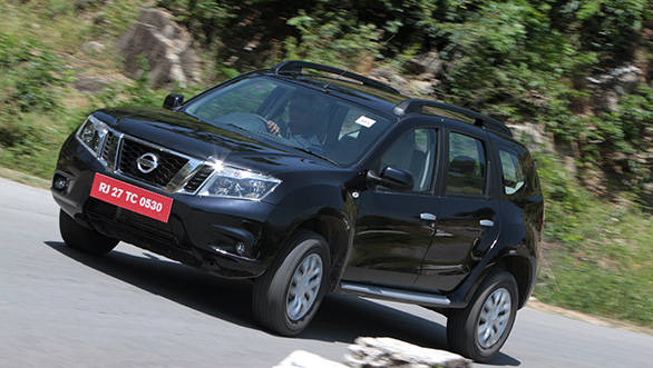 The petrol Terrano makes sense only if you want to drive an SUV around the city, with an occasional drive out of town.