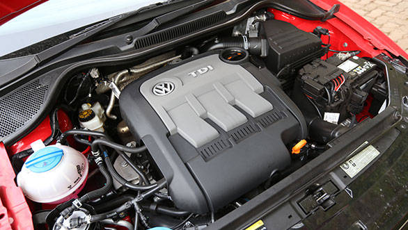 The TDI unit used in the Volkswagen Cross Polo