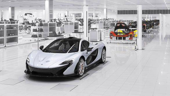 McLaren will build 375 units of the P1