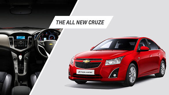 The 2013 Chevrolet Cruze comes with new bumpers and alloy wheels