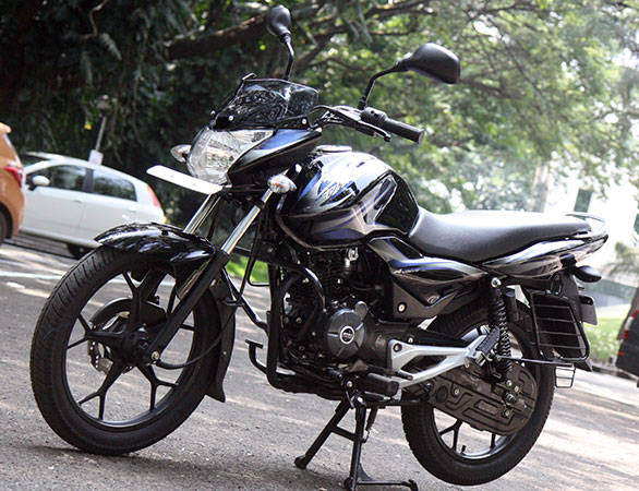 2013 Bajaj Discover 100M first ride