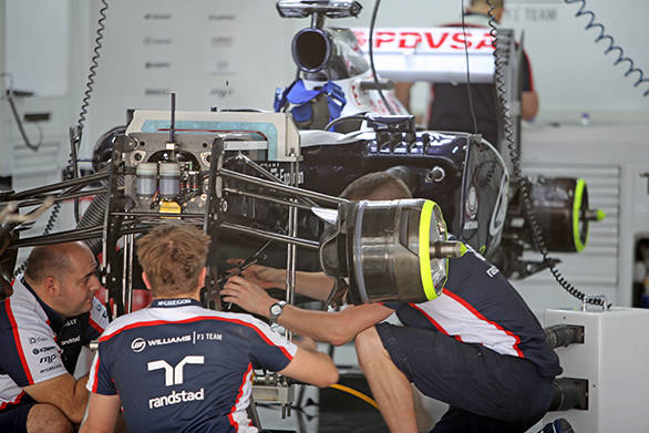 Williams mechanics at work