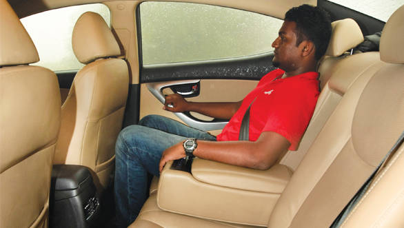Rear seat comfort is the car's forte and in the process is better than the Octavia