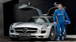 Bernd Maylander: the man who has led the most laps in F1