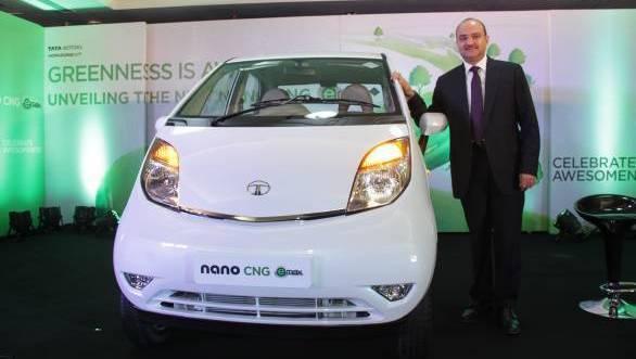 Ankush Arora, the senior vice president of Tata Motor (Passenger Vehicles Unit) at the launch