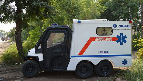 Polaris-Ambulance
