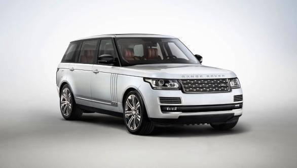 The Range Rover Long Wheelbase (LWB) model