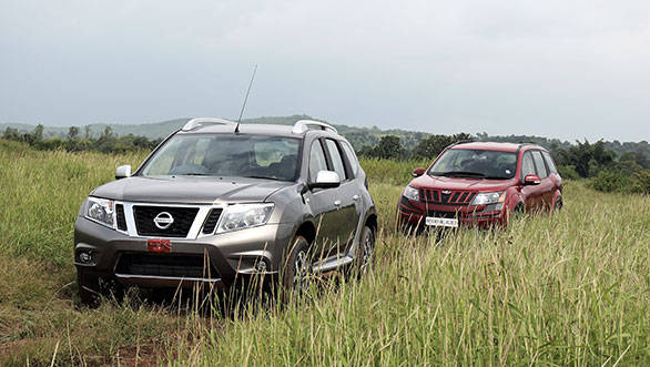 Amongst the two, the XUV has a more aggressive looking face