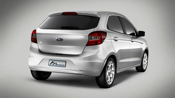 On the design front, the Ka seems to carry the Ford design language