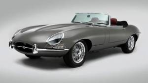 Custom stretched version of the Jaguar E-Type unveiled