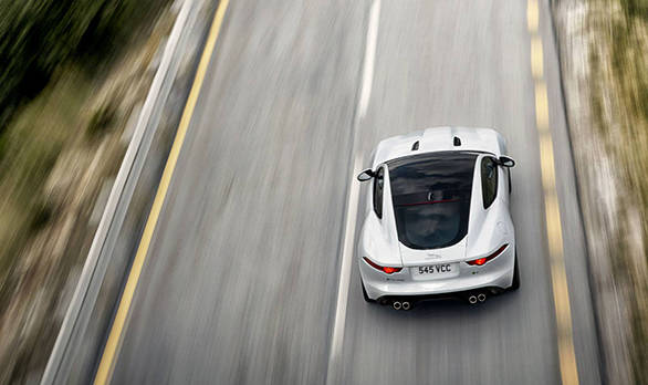 Powered by Jaguar's 5.0-litre supercharged petrol V8 all-aluminium engine in 550PS and 680Nm form, the F-TYPE R Coupé does the 0-100kmph run in 4.0-seconds