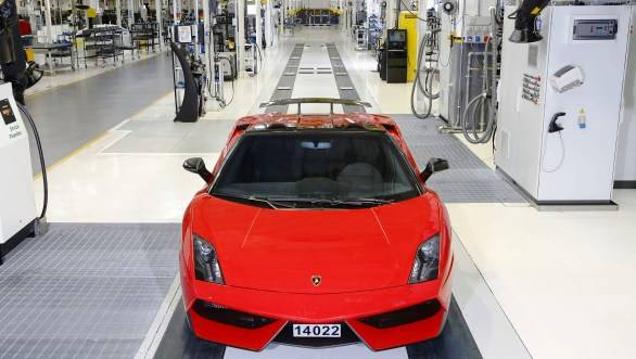 With a total of 14,022 units the Gallardo is the most-built Lamborghini