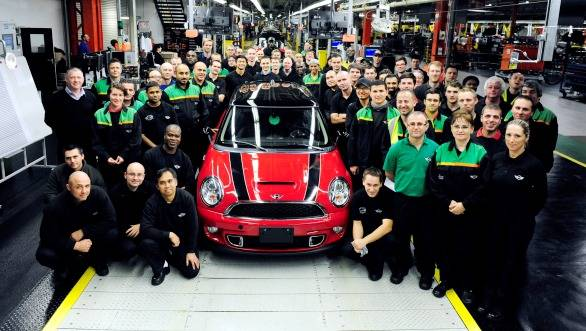 The last of the outgoing Mini