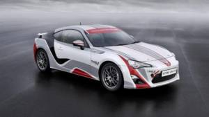 Toyota is developing GT86 CS-R3 rally car