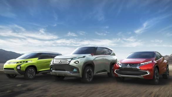Mitsubishi's lineup for the 2013 Tokyo Motor Show