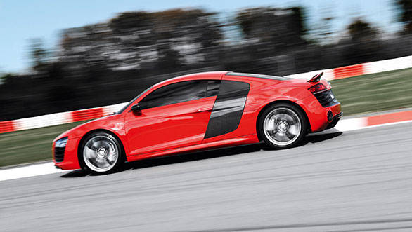 Driven right, the R8 at this track is hugely rewarding