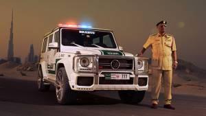 Brabus provides Dubai Police with B63S 700 Widestar