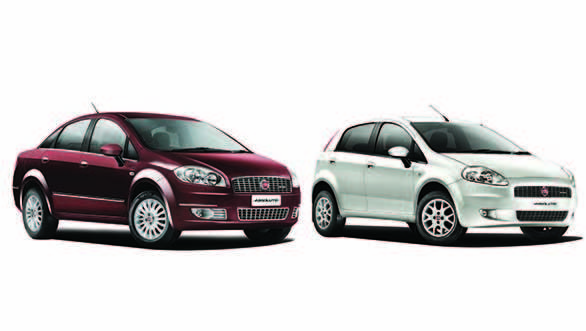 The 2013 Fiat Linea and Punto Absolute Editions