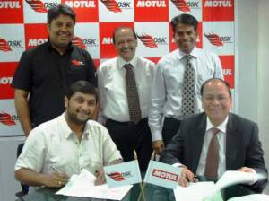 DSK Motowheels announces partnership with Motul