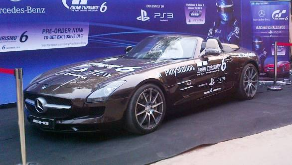 The GT6-branded SLS AMG convertible